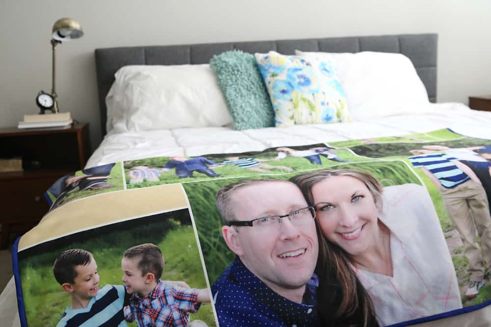 photo blanket - perfect gift ideas for couples