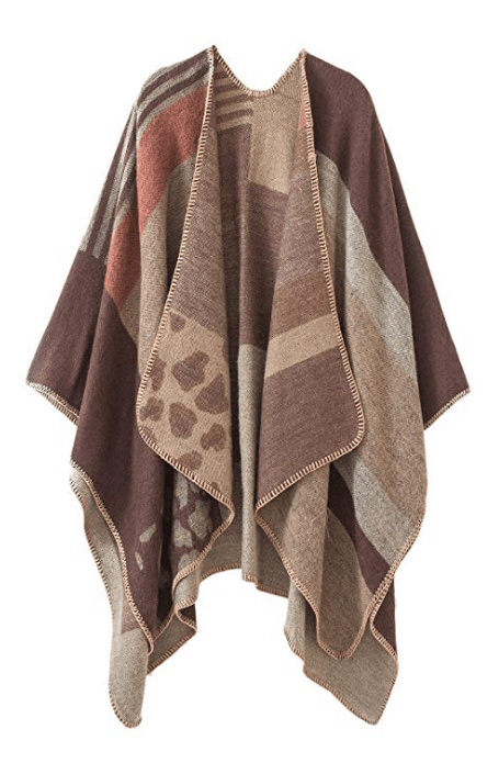 christmas gifts for grandma: poncho cape