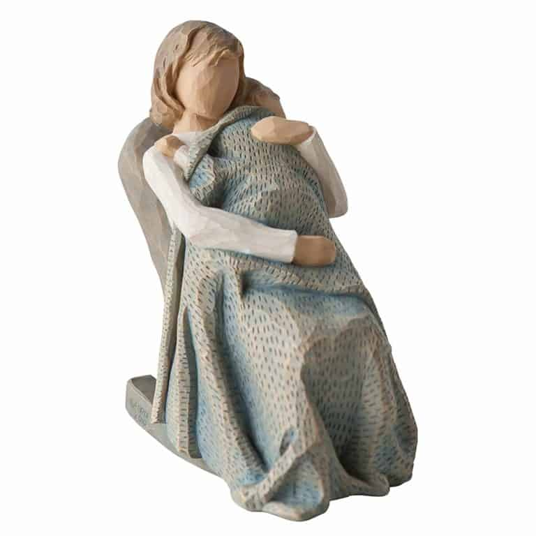nana gifts: the quilt hand-painted figure