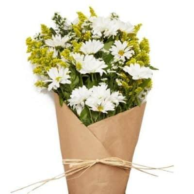 5 year anniversary flower daisy bouquet
