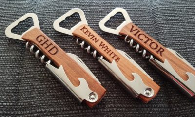 anniversary gift for him personalized bottle opener