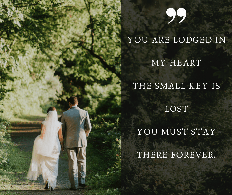 Romantic Non-traditional Wedding Vows For Him 1