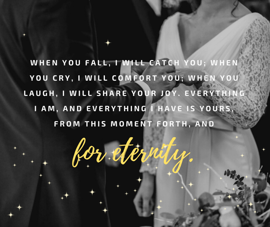 Short Wedding Vows For Her