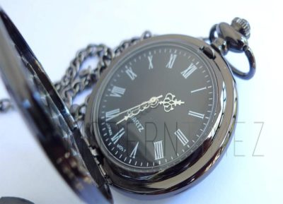 pocket watch with engraved message