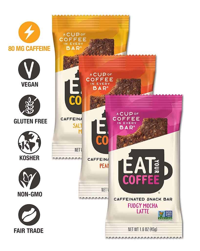 Christmas Gifts for Coworkers - eat your coffee energy bar