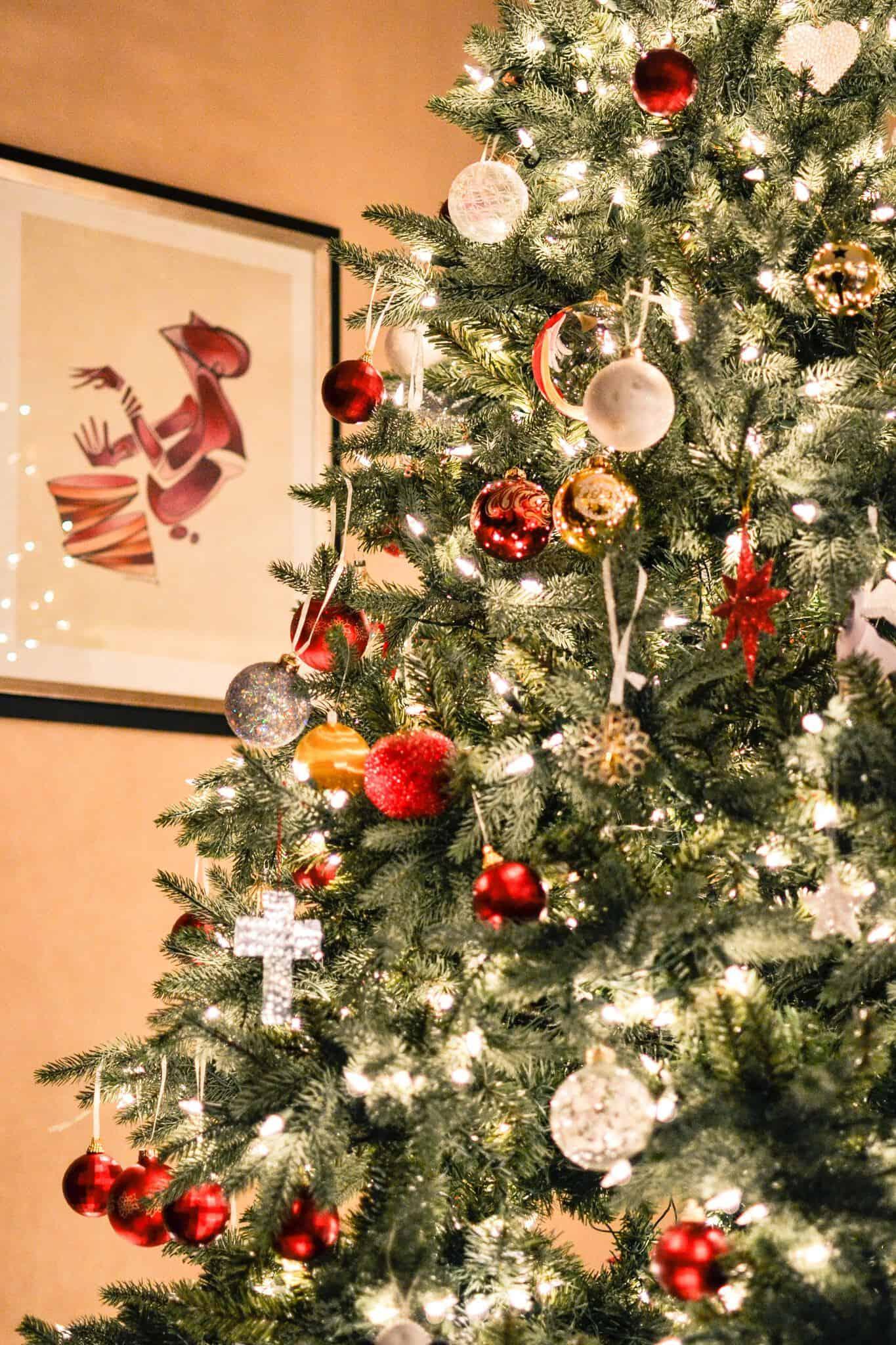 christmas tree office christmas decorations