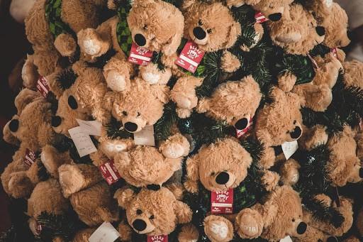teddy bears christmas decor ideas