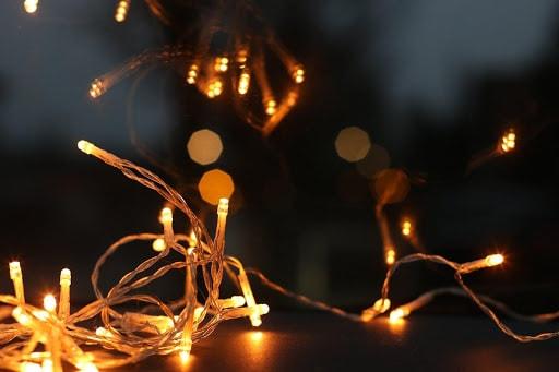 christmas twinkling lights