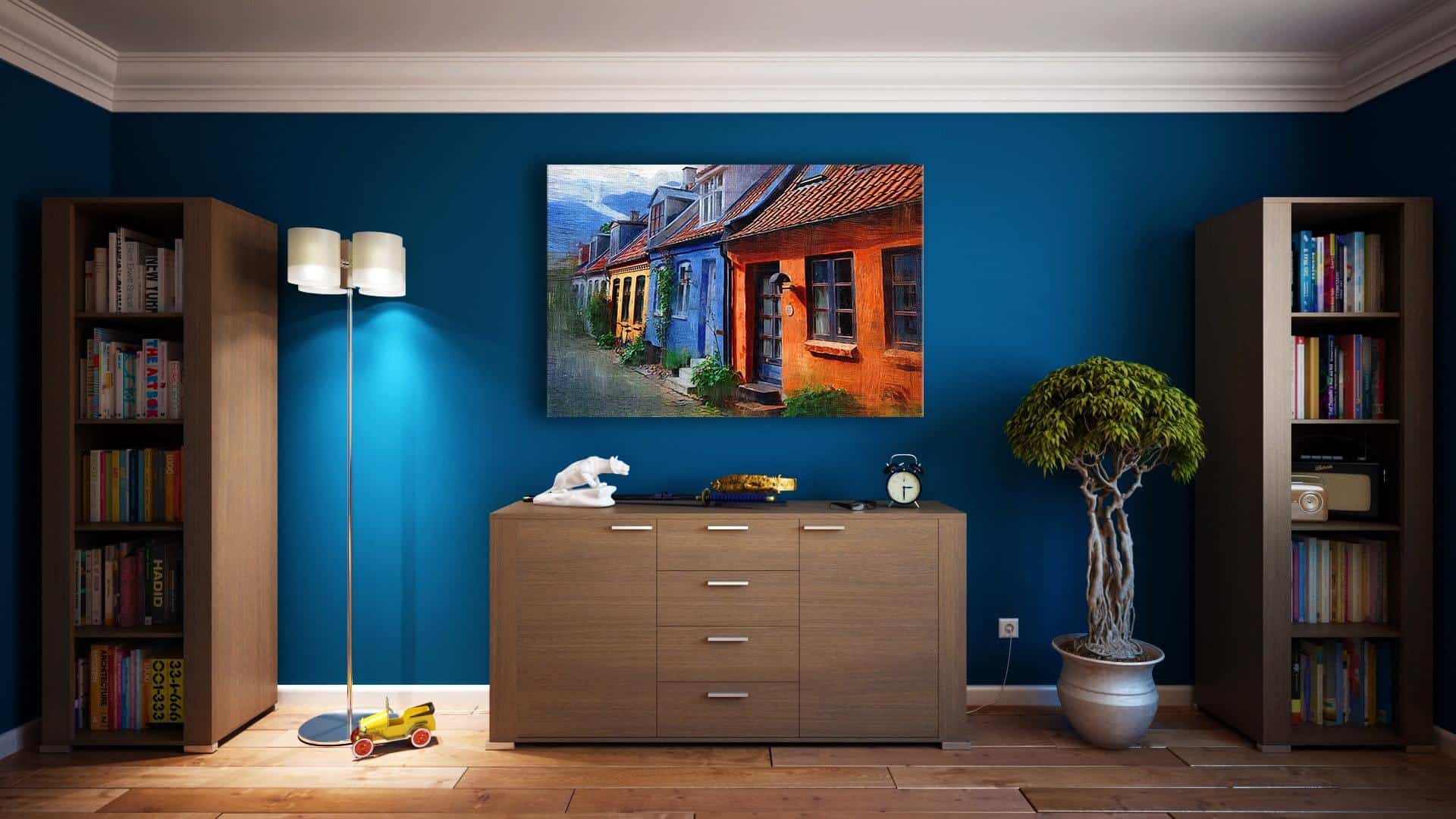 wall art guide canvas art print