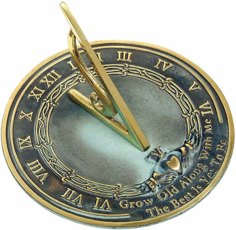 best 25th anniversary gifts - sundial
