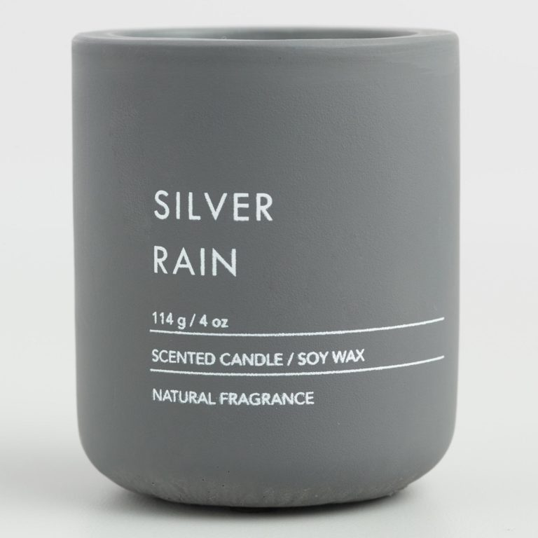 Silver candle