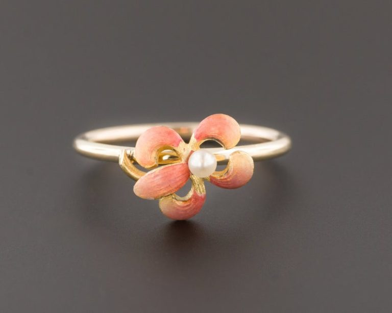 25th wedding anniversary gifts for her-Iris Ring