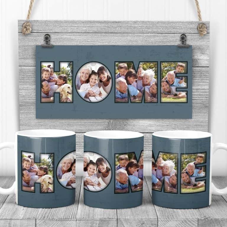 25th wedding anniversary gifts for parents-Home Custom Coffee Mug
