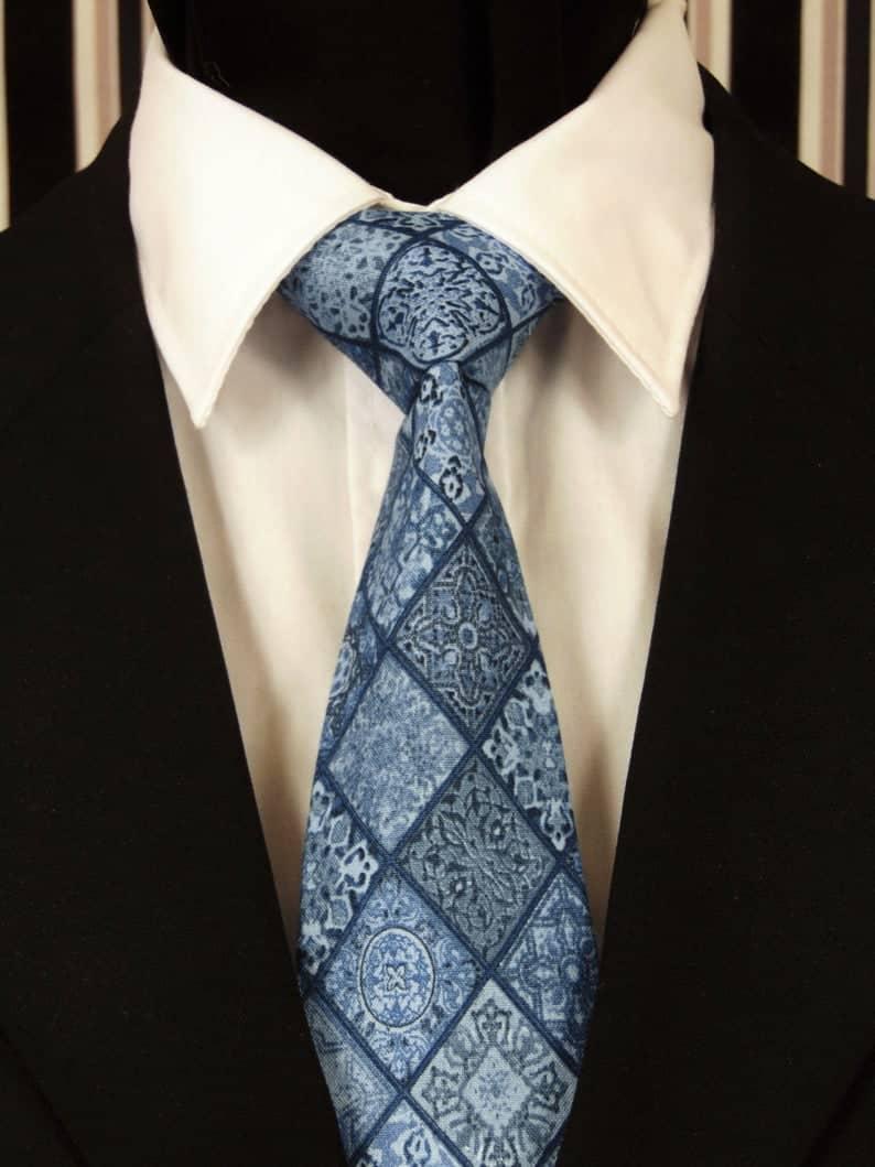 30 year anniversary gift for husband-Diamond Necktie