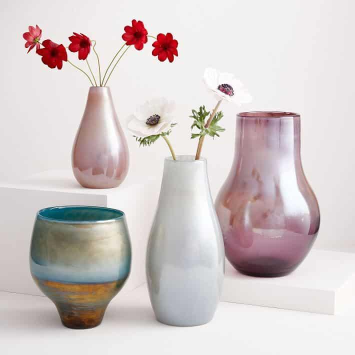 pearl gift ideas - flower vases