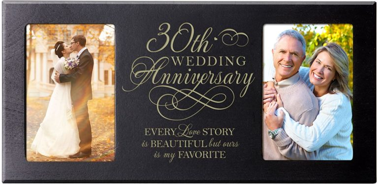 38 Best 30th Anniversary Gift Ideas For The Love Of Your Life