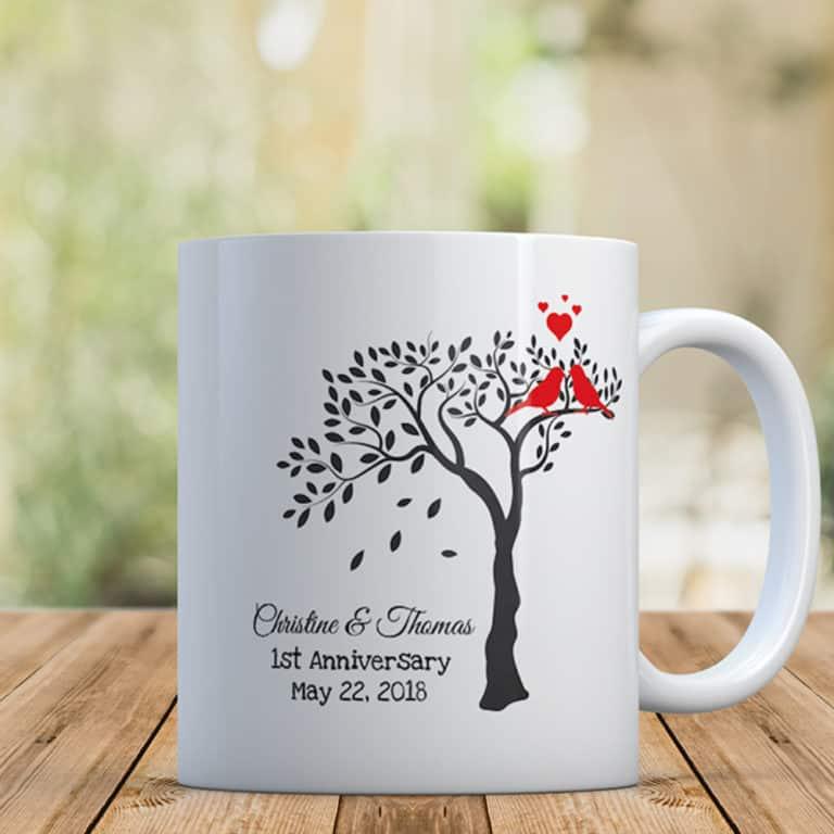 30th anniversary gifts - custom mug