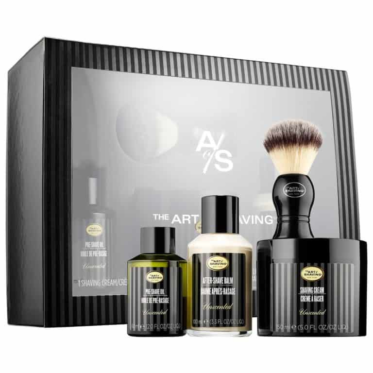 gifts for men: the 4 elements of perfect shave - unscented