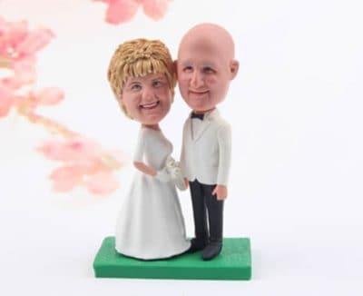 personalized bobbleheads - fun anniversary gift idea