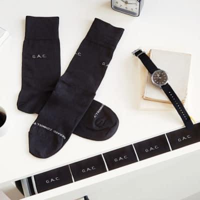 personalized socks - anniversary gift idea