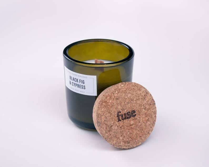 scented candle - gift idea for couples