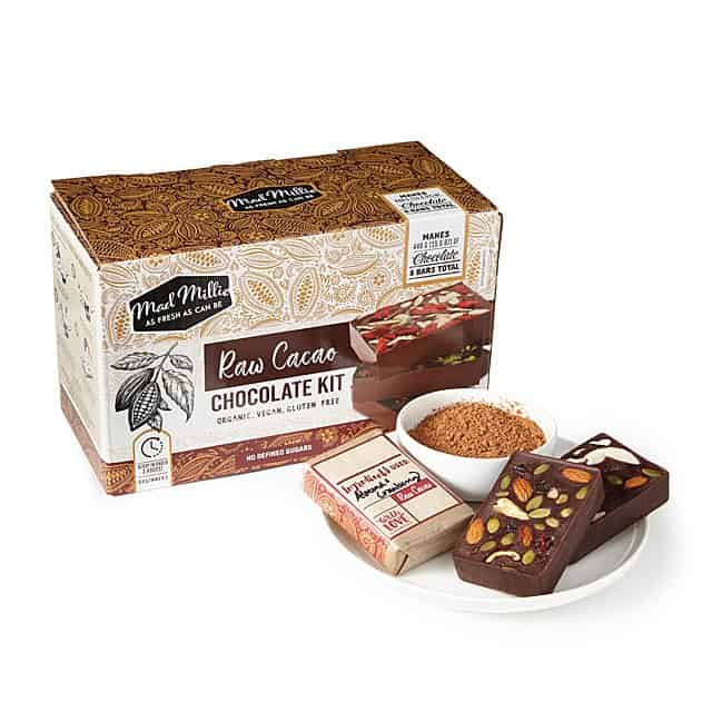 raw cacao chocolate kit - cute gift idea for couples on anniversary or valentine's day