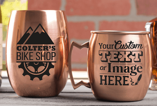 custom copper mug unique 7th anniversary gift for him