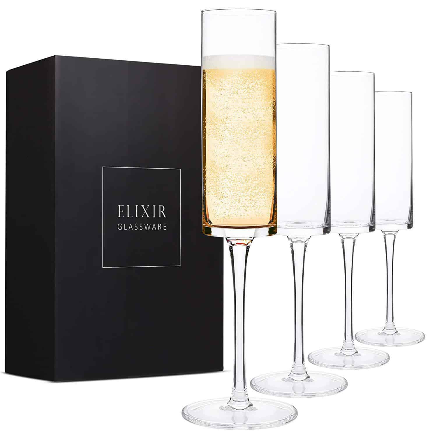 Champagne Flutes - Gifts For Parents Wedding Day