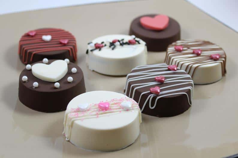 second wedding anniversary gift ideas:Chocolate Covered Oreos