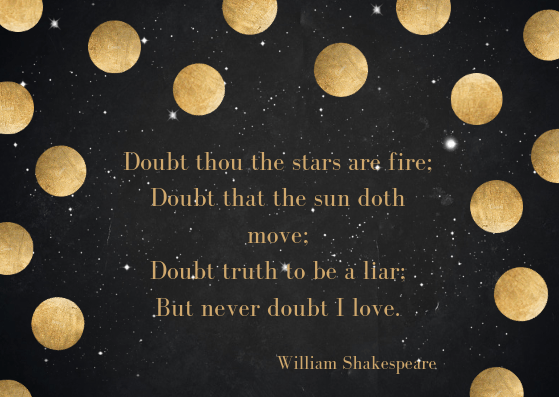 anniversary love poem by William Shakespeare
