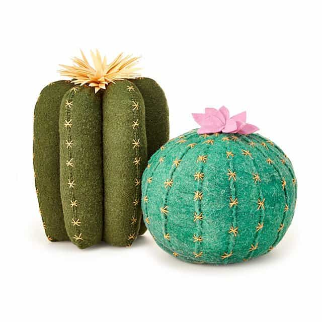 cactus throw pillows - cute christmas gift idea