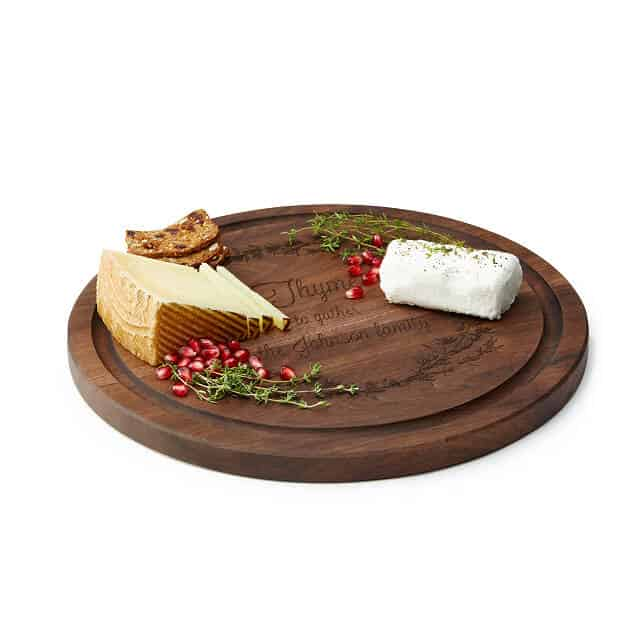 thyme to gather cheeseboard - pun Christmas gift idea