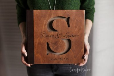 9th wedding anniversary gift: personalized wedding photo album