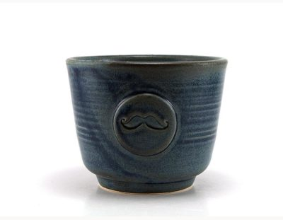 9th wedding anniversary gifts for him: pottery shaving bowl