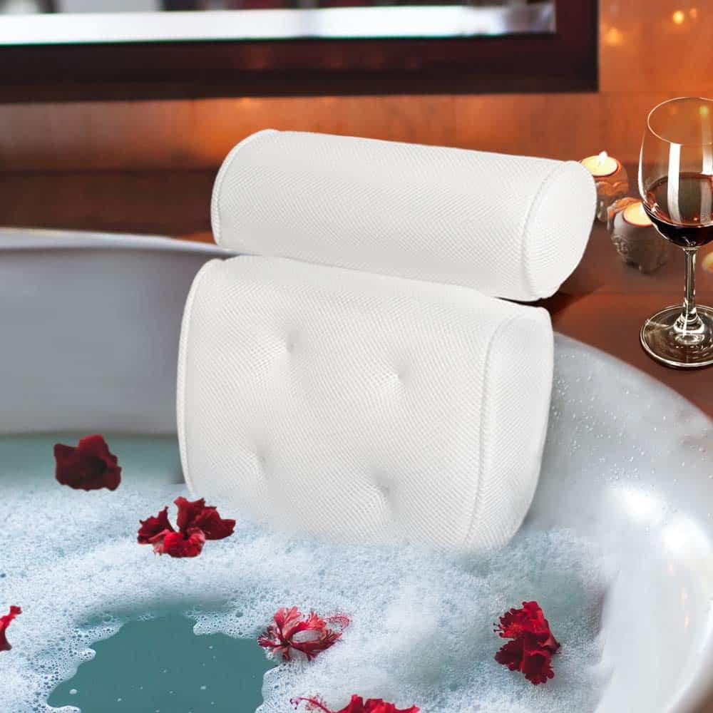 Bath Pillow As A Secret Santa Gift