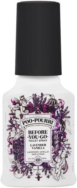 Before-You-Go Toilet Spray Lavender Vanilla Scent