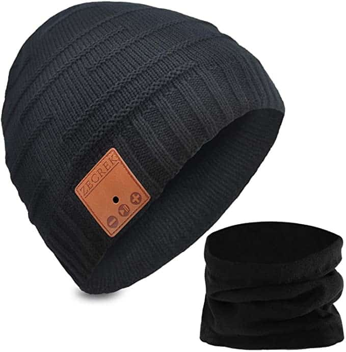 Bluetooth Beanie Hat - Secret santa gift for male co-workers