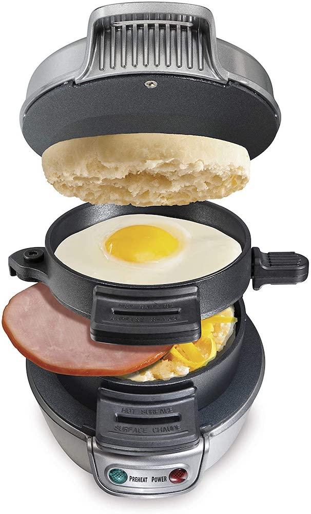 Hamilton Beach Breakfast Sandwich Maker - Secret santa gifts