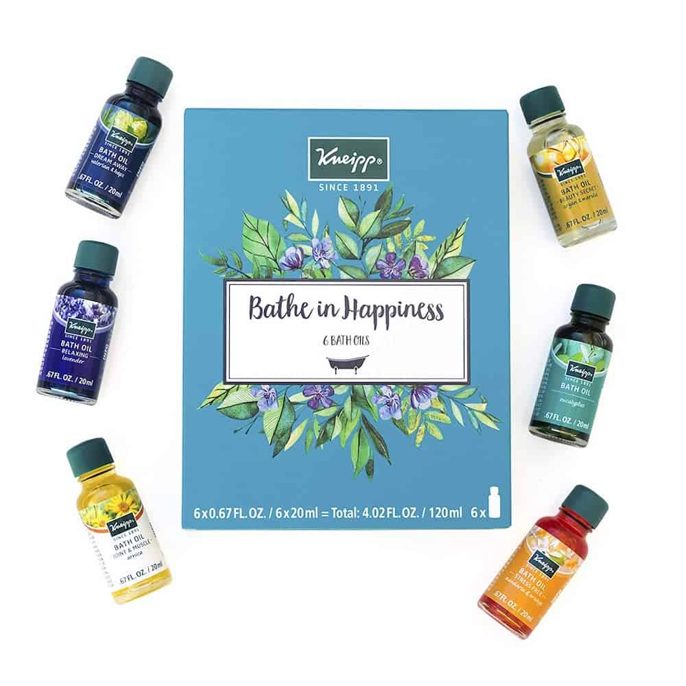 Kneipp 6 Piece Herbal Bath Oil Set For Her