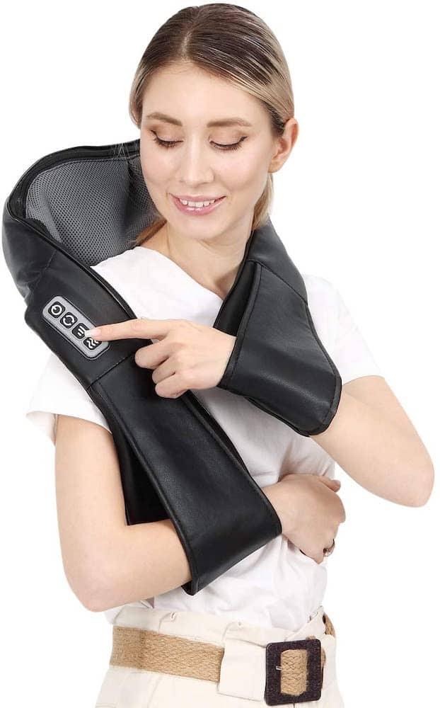 Neck Shoulder Back Massager As A Thoughtful Secret Santa Gift