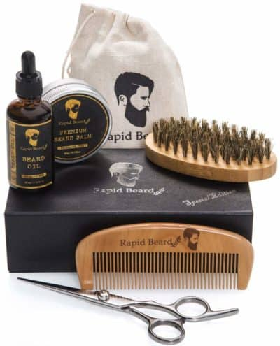 7th anniversary gift for him: bear grooming and trimming kit
