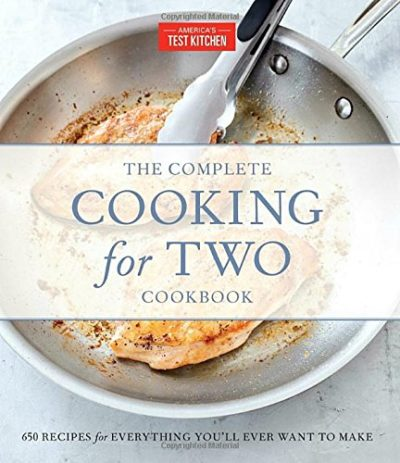 anniversary gifts for couples: the complete cooking for two cookbook