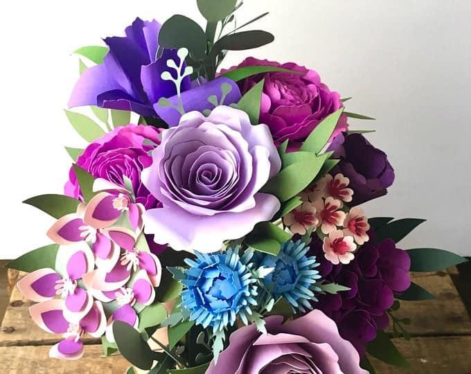 first anniversary gifts - flower bouquet