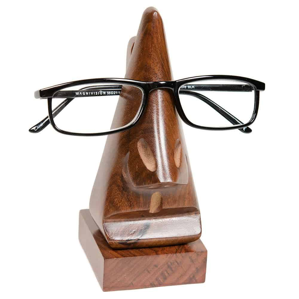 handmade wooden eyeglass holder for dad