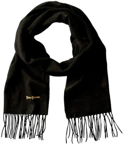 7 year wedding anniversary gift for him: cashmere wool scarf
