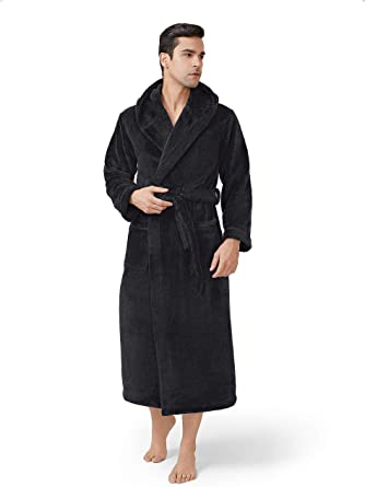 gifts for him valentines day: fleece bath robe