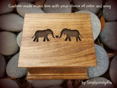 sweet & unique valentines gift for her: custom music box