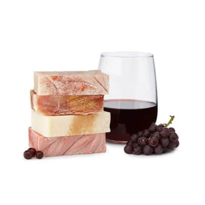 best gift for women on Valentine's day: wine soaps