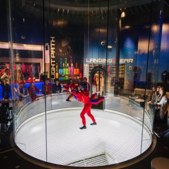 cool gifts for guys - indoor skydiving