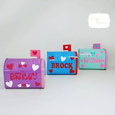 Personalized mail box: gift idea for kids